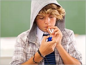 Adolescents and tobacco