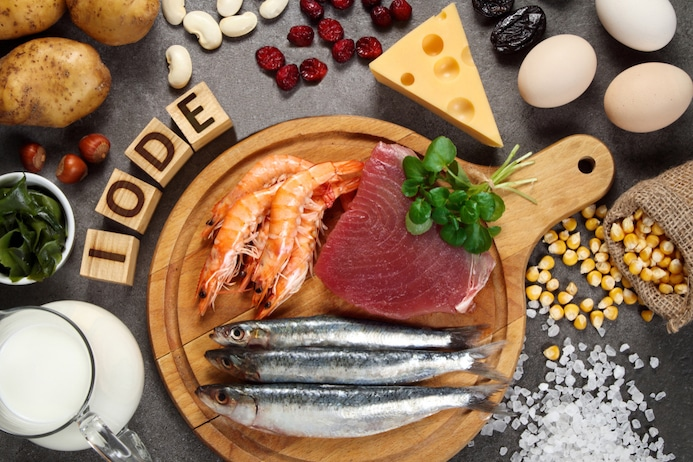 Activity of the most studied minerals in Nutritherapy - Iodine
