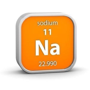 Activity of the most studied minerals in Nutritherapy - Sodium
